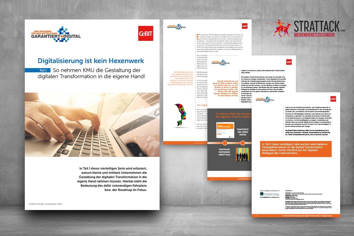 STRATTACK - Whitepaper So nehmen KMU die Gestaltung der digitalen Transformation in die eigene Hand